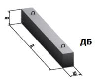 Продам подкрановые пути, железобетонные, длина l=625, под козловой, башенный краны 8-960-084-30-44